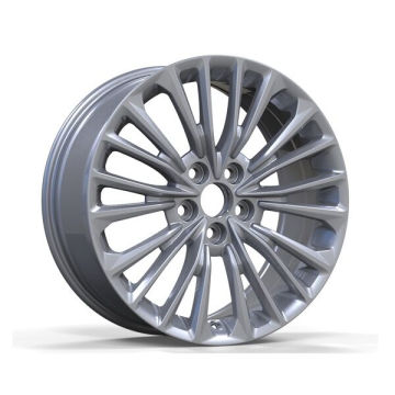 Silver Painted Toyota Replica Wheel